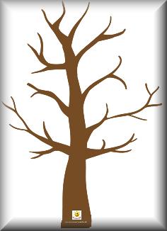 Bare Tree Template | New Calendar Template Site