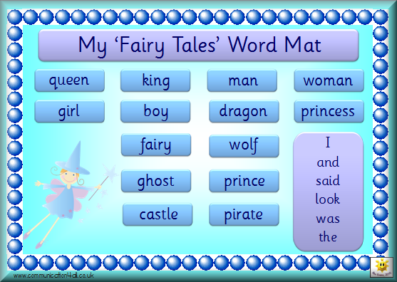 Simple Writing Word Mats for Younger Pupils: click the links below the ...
