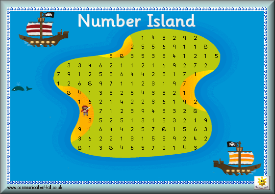 Number Strip Activity : click the image to download