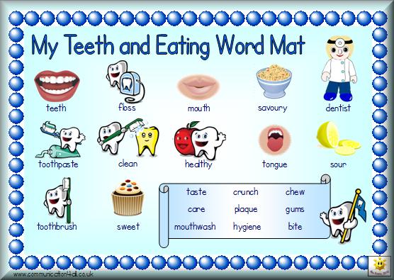 healthy eating worksheets