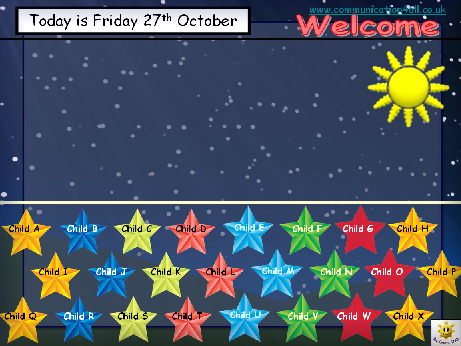 Starry Night Self Registration For 24 Pupils